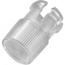 Lenti Trasparente Adatto per LED 5 mm TRU COMPONENTS EDK-1A-PCW