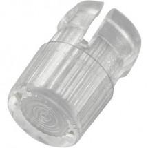 Lenti Trasparente Adatto per LED 3 mm TRU COMPONENTS EDK-01-PCW