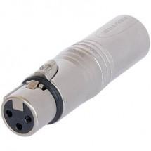 Adattatore XLR Presa XLR - Spina XLR Neutrik NA3F5M 1 pz.