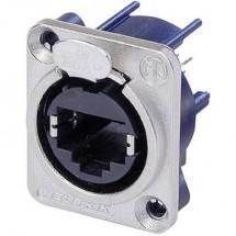Connettore per dati RJ45 EtherCon® serie D Presa dritta NE8FDV Poli: 8P8C NE8FDV Nickel Neutrik NE8FDV 1 pz.