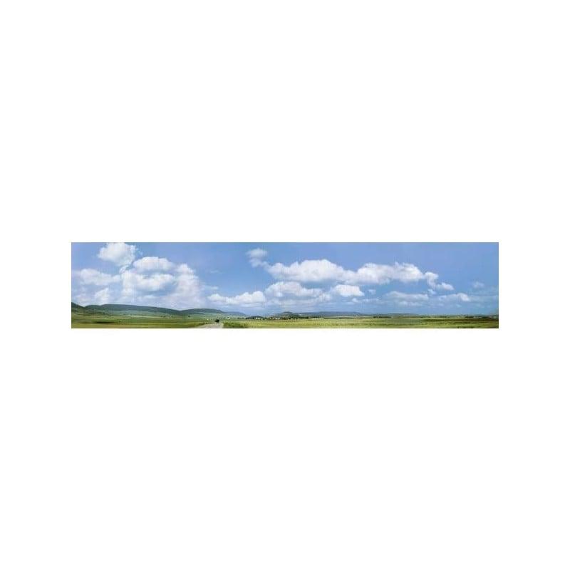 Fondale per modellismo ferroviario h0 lwenstein//wrttemberg faller 180515 2900 mm