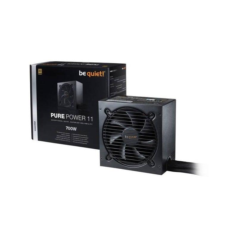 Pure Power 10 alimentatore per computer 700 W Nero be quiet