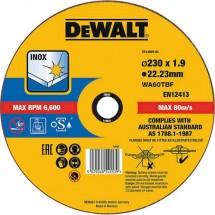 Dewalt DT43909 DT43909-QZ Disco di taglio dritto 1 pezzo 1 pz.