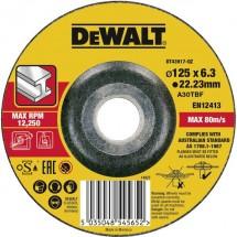 Disco di sgrossatura con centro depresso 1 pezzo Dewalt DT43917 DT43917-QZ 1 pz.
