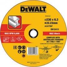 Disco di sgrossatura con centro depresso 1 pezzo Dewalt DT43919 DT43919-QZ 1 pz.