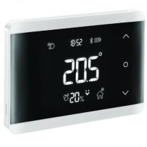 Cronotermostato TH 700 Bluetooth da Incasso Bianco o Nero a Batterie BPT 845AA-0080 - 845AA-0090