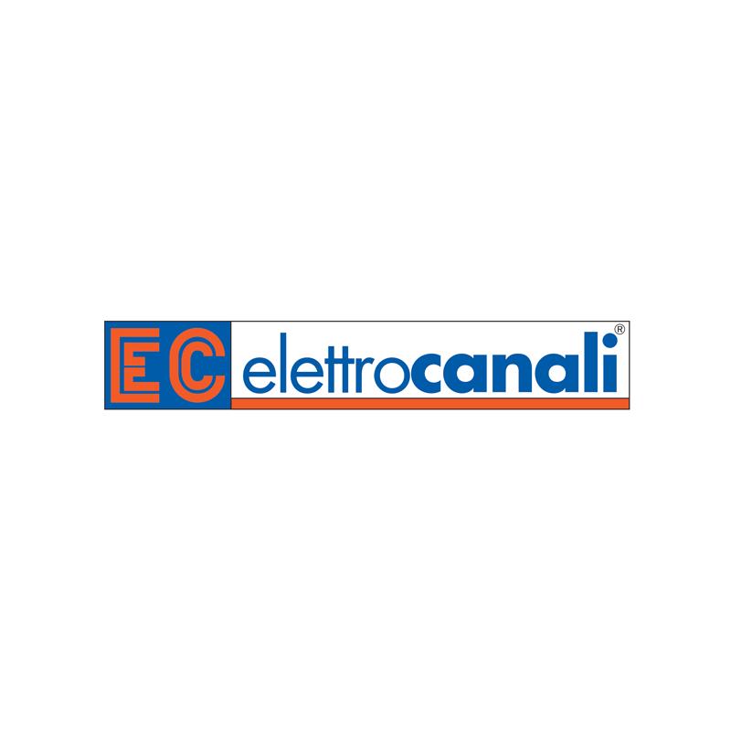 ELETTROCANALI PLACCA IN TECNOPOLIMERO NERO GLITTERING TRE MODULI