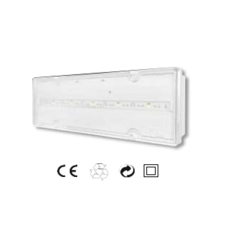 Plafoniera d'emergenza Kros Elettronica S.E. IP42Serie FAST 42 - FS42300NC10SE42