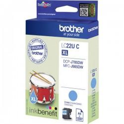 Cartuccia Brother Originale LC-22U C Ciano LC22UC