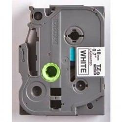 Cassetta nastro Brother TZe-241CIV Colore Nastro: Bianco Colore carattere: Nero 18 mm 8 m
