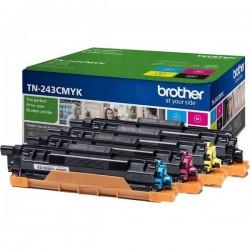 Brother Toner Conf. Combi TN-243 Multipack TN243CMYK Originale Nero, Ciano, Magenta, Giallo 1000 pagine