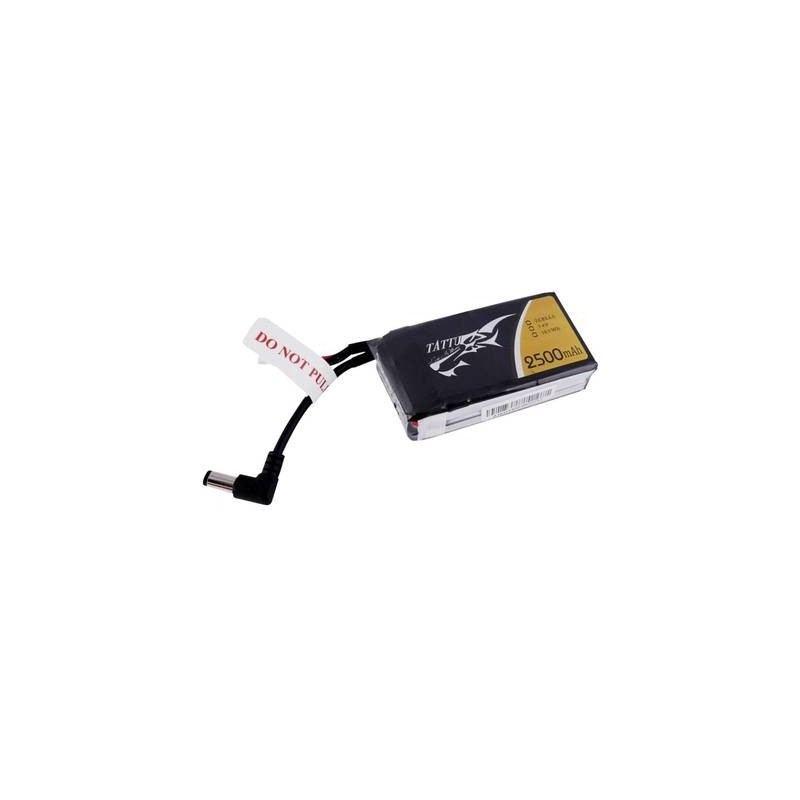 Tattu Batteria ricaricabile LiPo 7.4 V 2500 mAh Numero di celle: 2 Softcase 3,5 mm