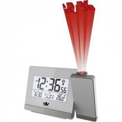 Techno Line WT538 WT 538 Radiocontrollato Orologio proiettore Argento