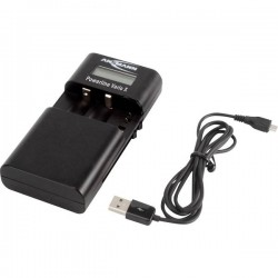 Ansmann Powerline Vario X 1001-0085 Caricatore per foto/videocamera Accumulatore adeguato LiIon, LiPo, NiMH