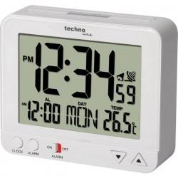 Techno Line WT195 Radiocontrollato Sveglia Bianco Tempi di allarme 1
