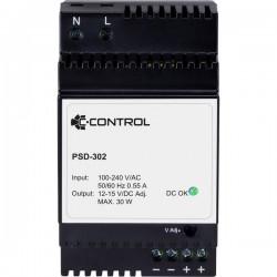 C-Control;PSD-302;Alimentatore per guida DIN12 V/DC 2.5 A;30 Wp;1 x