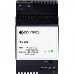 C-Control;PSD-322;Alimentatore per guida DIN24 V/DC 1.25 A;30 Wp;1 x