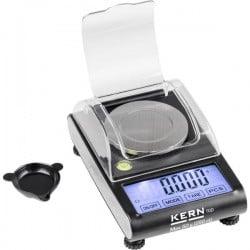 Kern TGD 50-3C TGD 50-3C Bilancia tascabile Portata max. 50 g Risoluzione 0.001 g a batteria Multicolore