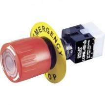 DECA ADA16E6-R22-C10R Interruttore di arresto di emergenza 250 V/AC 5 A 2 NC, 2 NA IP65 1 pz.
