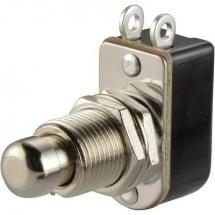 TRU COMPONENTS TC-R13-85A-05 Pulsante 250 V/AC 3 A 1x Off / (On) Momentaneo