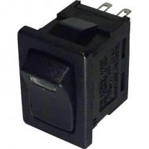 TRU COMPONENTS Interruttore a bilanciere TC-R13-66L-02 LED 12V/DC 250 V/AC 6 A 1 x Off / On Permanente 1 pz.