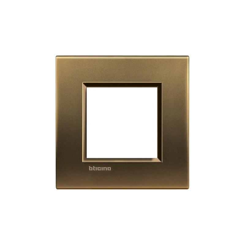 Placca bronzo 2M quadra