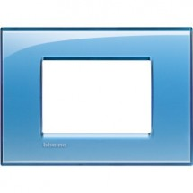 Placca azzurra 3 mod quadra