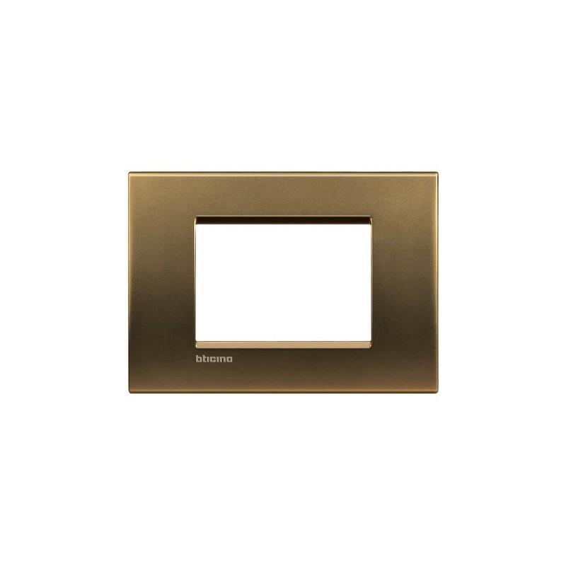 Placca bronzo lucido 3M quadra