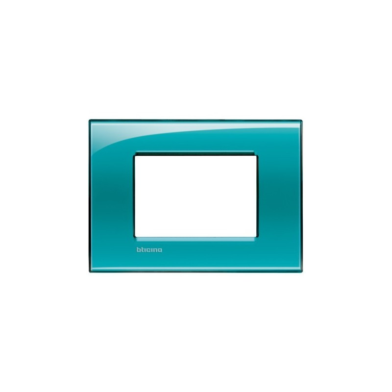 Placca verde 3 mod quadra