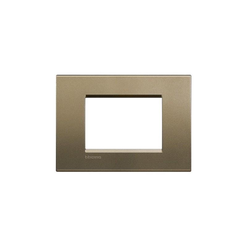 Placca square 3 Mod quadra