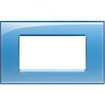 Placca quadra azzurra 4M