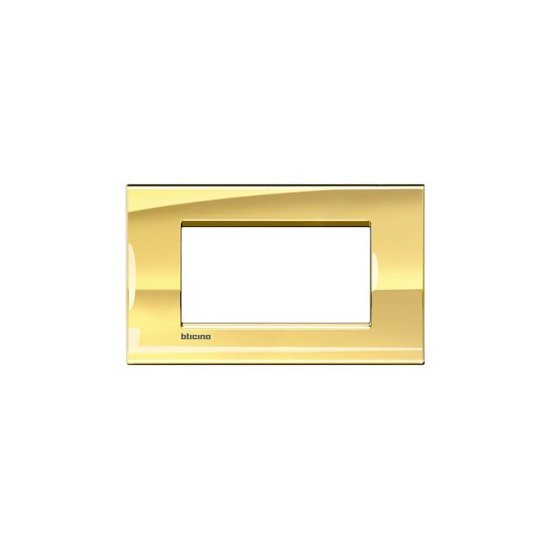 Placca 4M oro freddo quadra