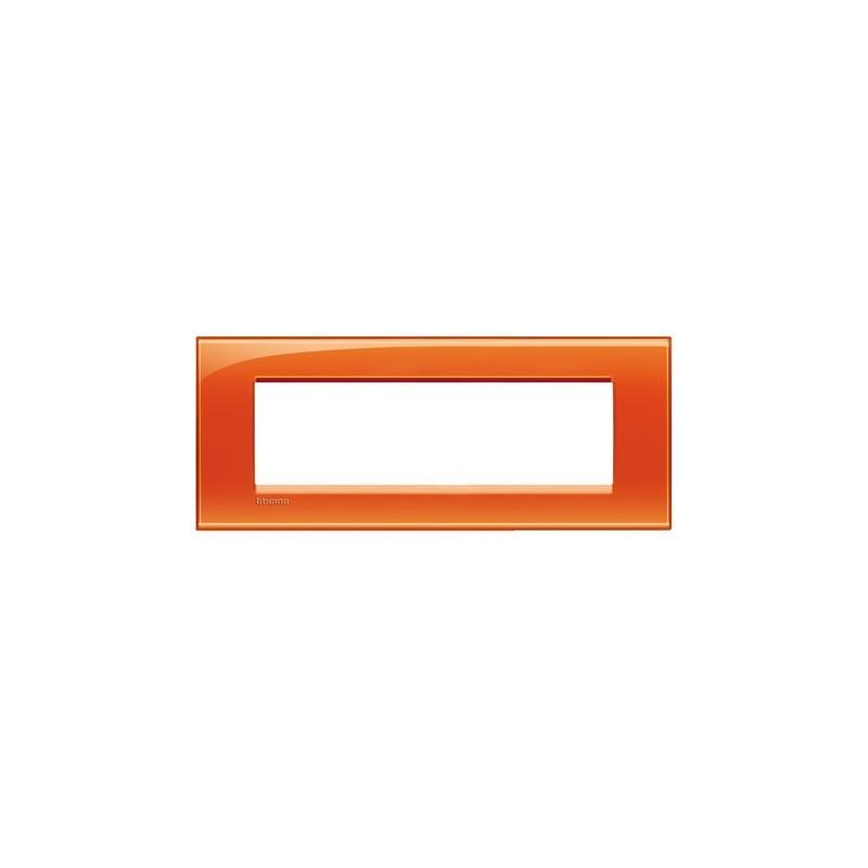 Placca arancio 7M quadra