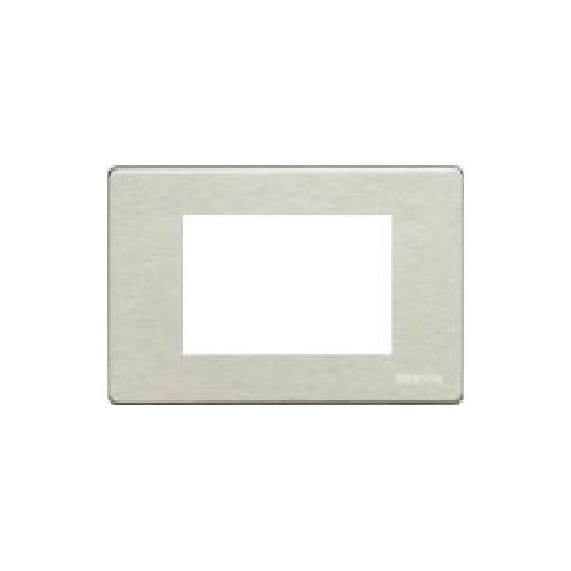 Placca Alluminio Anodizzato - 3 Posti - Magic