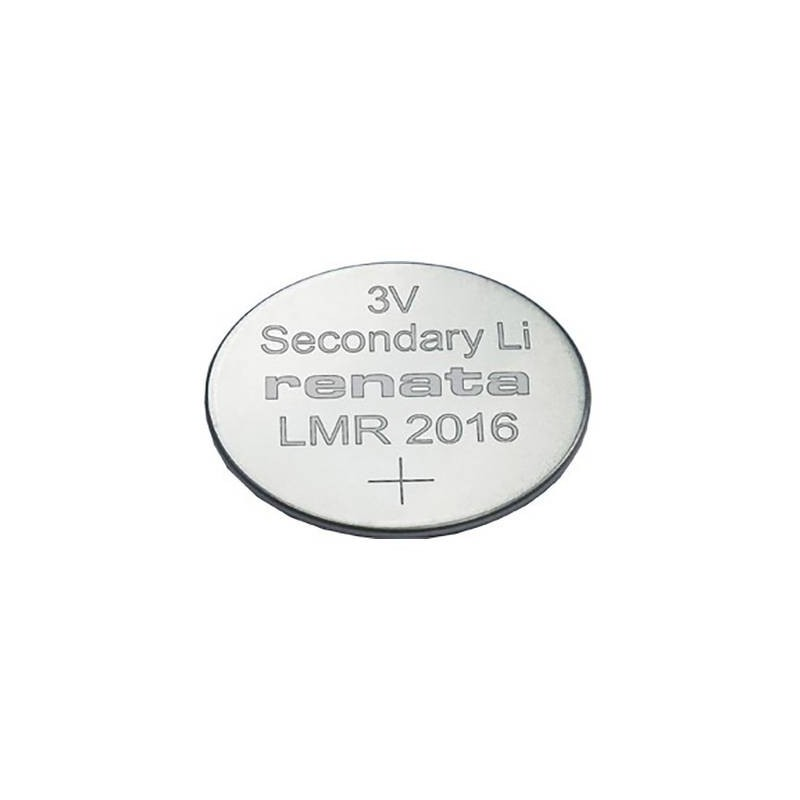 Renata LMR 2016.SC Batteria ricaricabile a bottone LMR 2016 Litio 30 mAh 3 V 1 pz.