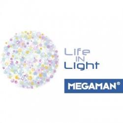 Megaman LED Classe energetica A+ (A++ - E) E27 Asta 27 W 50 W Bianco neutro (Ø x L) 63 mm x 188 mm 1 pz.