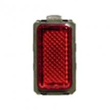 Portalampada con Diffusore Rosso - 24V - Magic