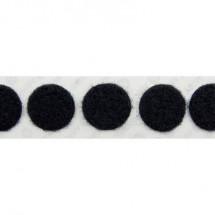 Punti a strappo da incollare Parte morbida (Ø) 19 mm Nero VELCRO® E20101933011425 1120 pz.