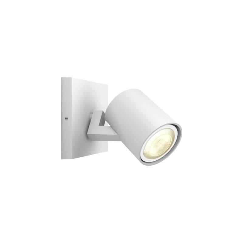 Faretti Da Parete Led (Estensione) Philips Lighting Hue White Ambiance Runner Gu10 5.5 W Bianco Caldo, Bianco Neutro, B