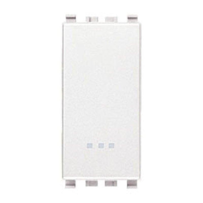 Deviatore 16AX - Bianco - Eikon