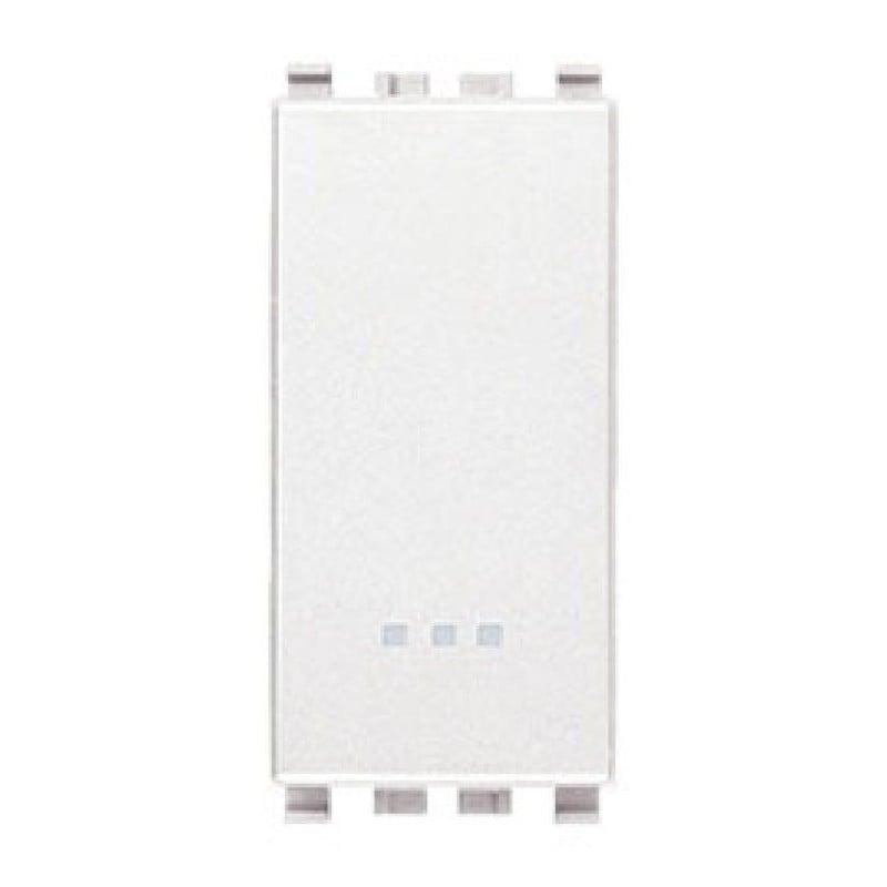 Invertitore 16AX - 250V - Bianco - Eikon Vimar