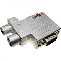 Provertha 40-1392122 Distributore e adattatore per sensore o attuatore M12 Adattatore, Resistenza terminale Numero di