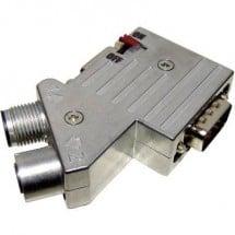 Provertha 40-1292122 Distributore e adattatore per sensore o attuatore M12 Adattatore, Resistenza terminale Numero di