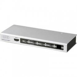 ATEN VS481A-AT-G 4 Porte Switch HDMI Controllabile via PC, Con telecomando 1920 x 1200 Pixel