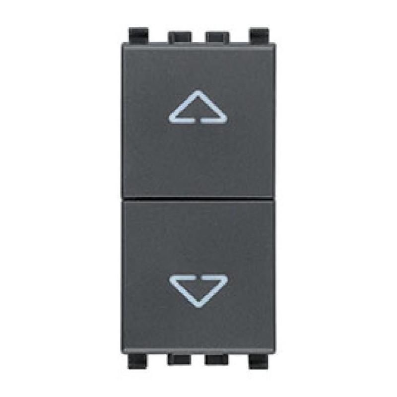 Pulsante Interbloccato - 10A - Frecce Direzionali