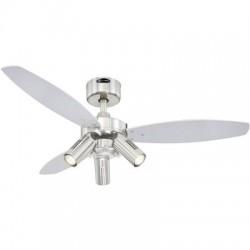 Westinghouse JET PLUS Ventilatore da soffitto Classe energetica: a seconda della lampada (Ø) 105 cm Col. pala: Wenge,