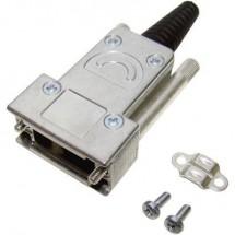 Provertha 117092DC50101 Guscio SUB-D Poli: 9 Metallo 180 ° Argento 1 pz.