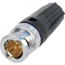 Connettore BNC Spina dritta 75 Ω Neutrik NBNC75BUU11 1 pz.