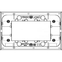 Placca Classic 4 moduli col argento