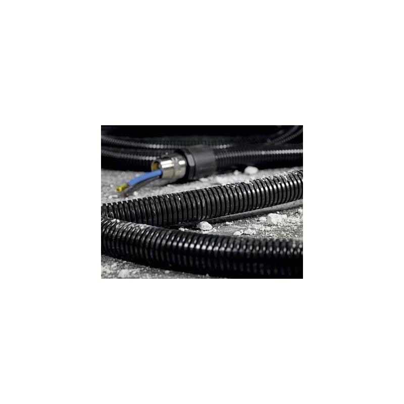 Tubo corrugato Nero 6.30 mm HellermannTyton 166-11100 HG-SW10 Merce a metro